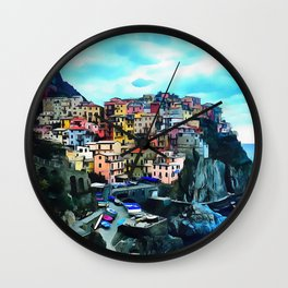 Manarola Wall Clock