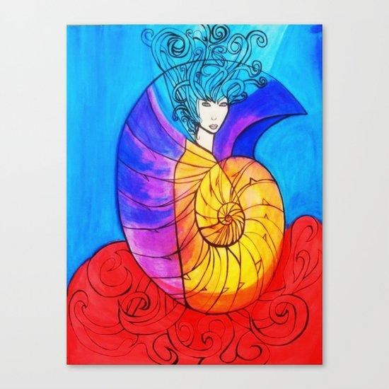 Nautilus Muse Canvas Print