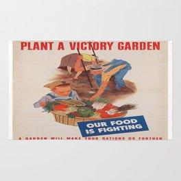Vintage poster - Victory Garden Rug