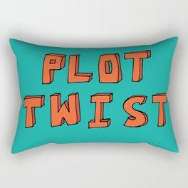 Plot Twist Rectangular Pillow