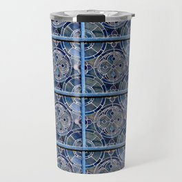 Blue windows Travel Mug