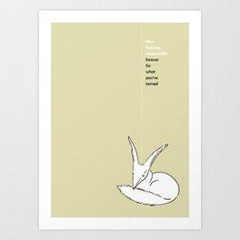 LE PETIT PRINCE -THE LITTLE PRINCE- poster Art Print