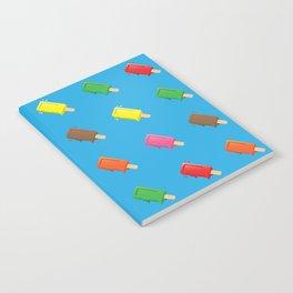 Cute Popsicle Cartoon Pattern Notebook
