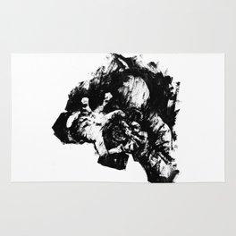 Leroy (Messy Ink Sketch) Rug