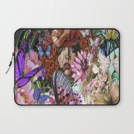 Illusional Floral Laptop Sleeve