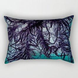 Dark Lichen Rectangular Pillow