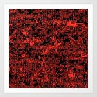 ASCII Art Print