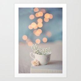 Cup of Tea Art Print