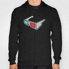 3d glasses Hoody