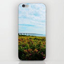 Wild Roses and the Big Bridge iPhone Skin