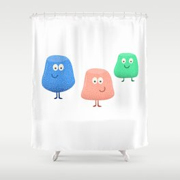 Gum Drops Set  Shower Curtain