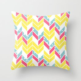 Pantone Chevron Throw Pillow