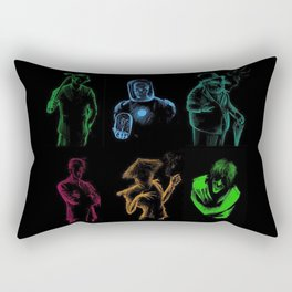 Super Hero 04 Rectangular Pillow