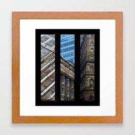 Aspects of Montreal Framed Art Print