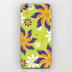 Flowerswirl iPhone & iPod Skin