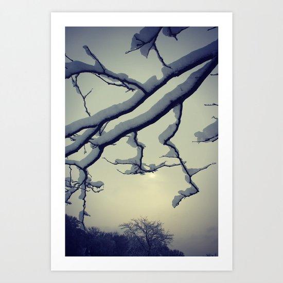 Snow Dreams Art Print