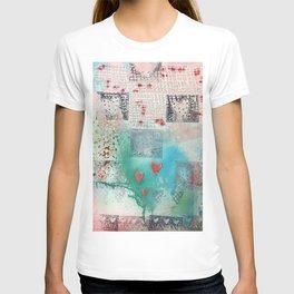 Textured Hearts T-shirt