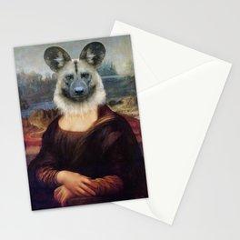 Wild Dog Mona Stationery Cards