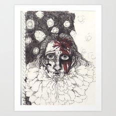 shot Art Print