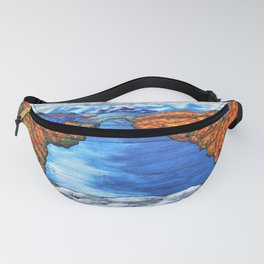 A View of the Blue Mountains of the Adirondacks Fanny Pack