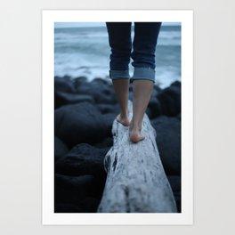Where Feet May Fail Art Print