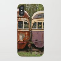 bender iPhone & iPod Cases featuring Fender Bender by Michael G. Mitchener