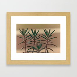 """""""The One Thing in Three"""" Framed Art Print"""