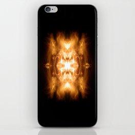 Dark Flame Design iPhone Skin