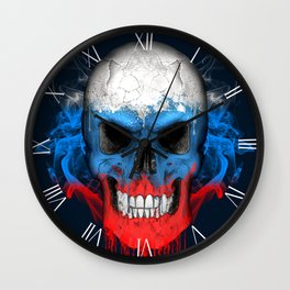 To The Core Collection: Russia Wall Clock