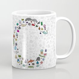 letter c - sea creatures Coffee Mug