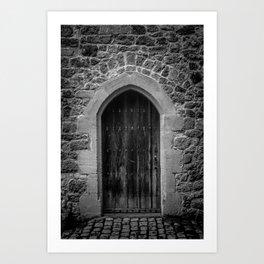 A Doorway Awaits at Leeds Castle Art Print