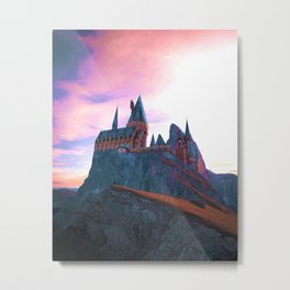 Hogwarts School of Witchcraft and Wizardry Metal Print