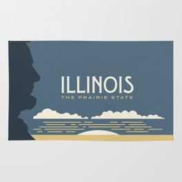 Illinois - Redesigning The States Series Rug