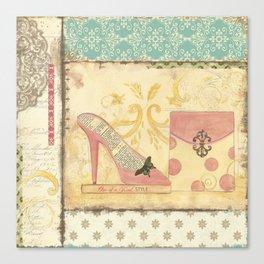 Paris Haute Coutoure Collection - She's Got Style Canvas Print