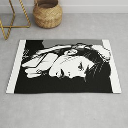 Fighter Girl Rug