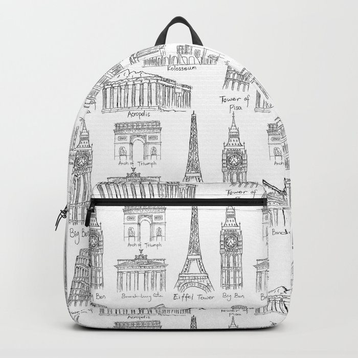 Europe at a glance Backpack