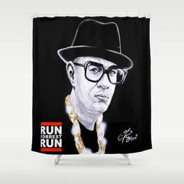 Run Forrest Run Shower Curtain