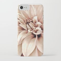 Golden Pink Dahlia, Forever Thine iPhone 8 Slim Case