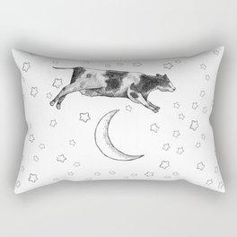 Cow Jumping Over The Moon Rectangular Pillow