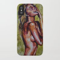 pain iPhone & iPod Cases featuring Pain by Artsy Kat