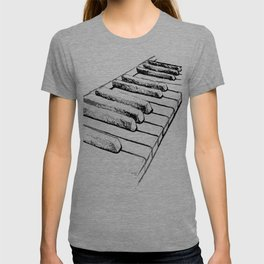 Sketching Pianos Doesn't Make You Better At Piano T-shirt