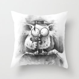 The Unwanted Answer Throw Pillow
