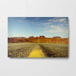 """Think I'll go home now"" Metal Print"