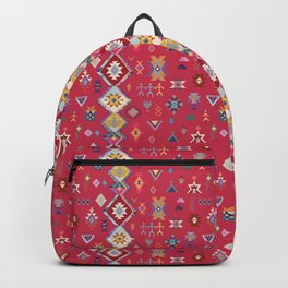 KILIM NO.1 IN DESERT MAGENTA Backpack