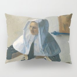Johannes Vermeer - Woman with a Water Jug Pillow Sham