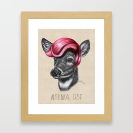 Norma Doe Framed Art Print