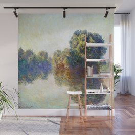 Claude Monet The Seine at Giverny Wall Mural