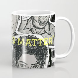 (Human Rights - Black Lives Matter) - yks by ofs珊 Coffee Mug