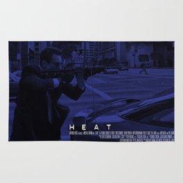 Movie Poster - Heat (De Niro) Rug