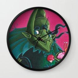 l'esprit du potager Wall Clock